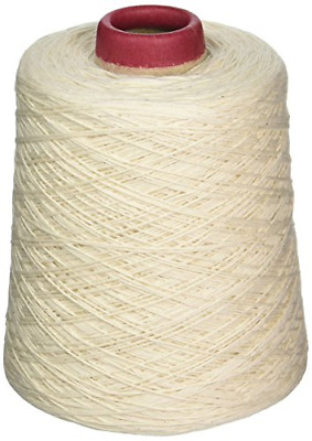 Colonial Needle PHR-W Pleachet Carpet Warp Cone, 1lb
