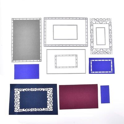 Frame Cutting Dies Stencil DIY Scrapbooking Embossing Album Paper Card Crafts