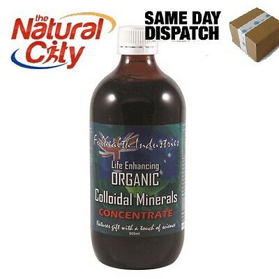 FULHEALTH ORGANIC COLLOIDAL TRACE MINERALS CONCENTRATE - 500mL