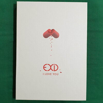 [Pre-Owned/No Photocard] EXID I Love You Single Album - CD/ Booklet