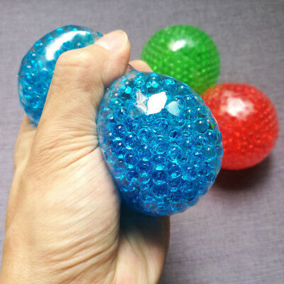 Bead Gel Stress Ball Anti Stress Autism Squeeze Sensory Filled Toy Kids Gift Toy