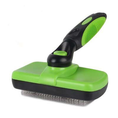 Pet Grooming Brush Self Cleaning Slicker Brushes for Dogs Pet Shedding Tool USA