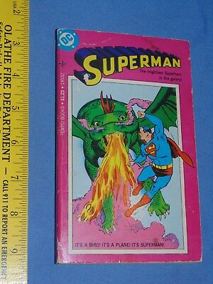 Superman Paperback Tempo Book - DC Comics