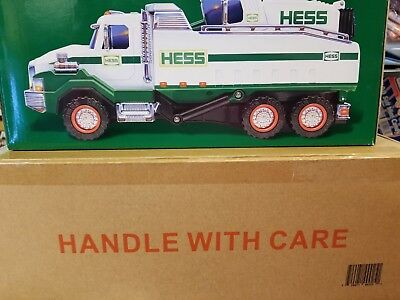 New 2017 Hess Dump Truck And Loader With Extending Crane, LED Lights and Sounds