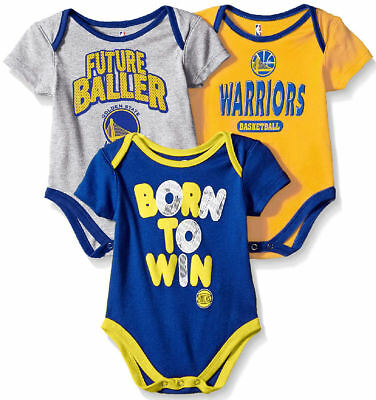 b8285ad2dc23 LOS ANGELES LAKERS Infant   Toddler Little Fan 3 Pack Creeper Set ...