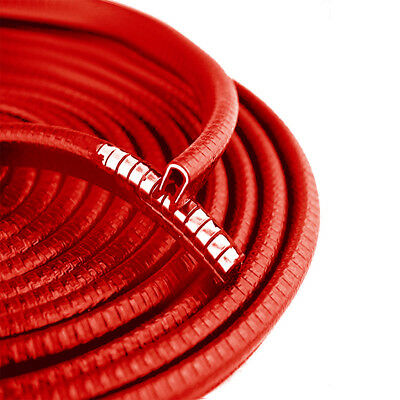 3M/10ft Molding Rubber Seal Strip Trim Car Door Edge Guard Protector U Shape Red
