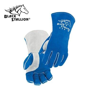 Revco/Black Stallion Cowhide Comfort-Lined Stick Welding Gloves Size Large