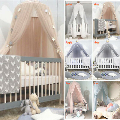 Kids Dome Princess Bed Canopy Mosquito Net Child Play Tent Curtain Room Decor