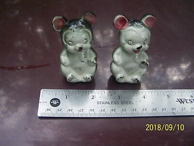 black and white bear salt and pepper shakers