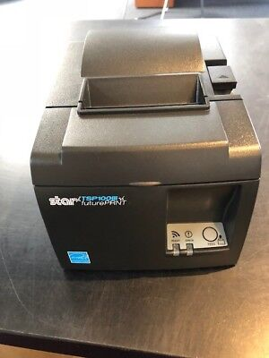 Star TSP143IIIW GY AS Thermal Receipt Printer, Wifi (TSP1000III)