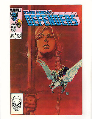 The New Defenders #130 (1984, Marvel) NM- Frank Cirocco Valkyrie Cover Mike Zeck