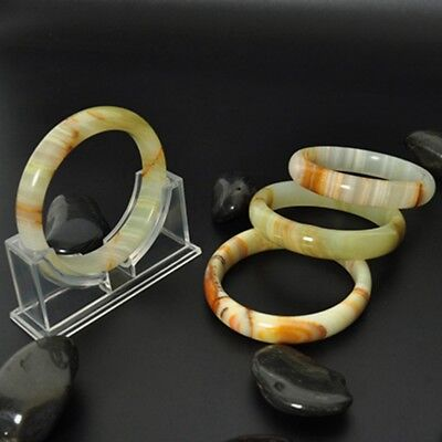 Chinese Natural Beautiful Afghanistan Jade Bangle Hand Carved Jade Bracelet