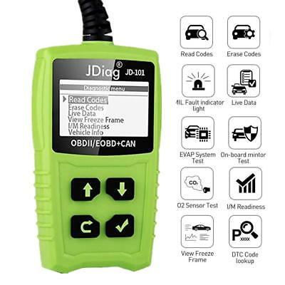 OBD II Code Reader Auto Car Scanner Battery Tester Check Engine Diagnostic Tool