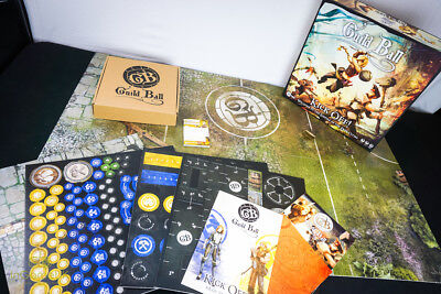 Steamforged Games Guild Ball Kick Off Bundles with Guilds NEW and SEALED