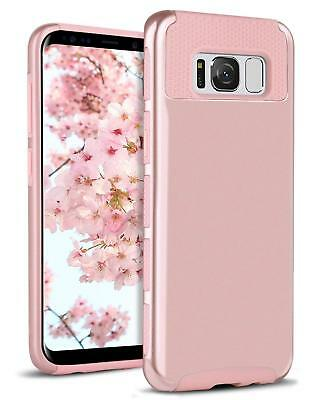 Hybrid Rubber ShockProof Protective Hard Case Cover fr Samsung Galaxy S8 S8 Plus