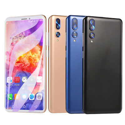 """Android 6.0 Unlocked 6.0"""" Cell Phone Quad Core Dual SIM 3G T-Mobile Smartphone"""