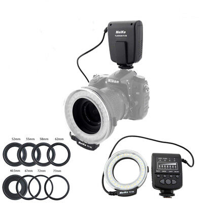Meike FC-100 Macro Ring Flash Light for Canon Nikon Olympus Fuji DSLR Cameras
