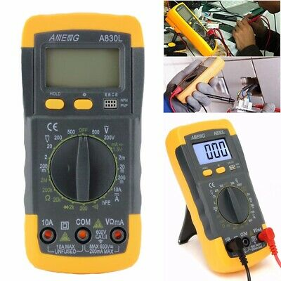 LCD Digital Multimeter Voltmeter AC DC Voltage Tester Circuit Checker Buzzer