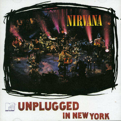 MTV Unplugged in New York by Nirvana (CD, Oct-1994, DGC) *NEW* *FREE Shipping*
