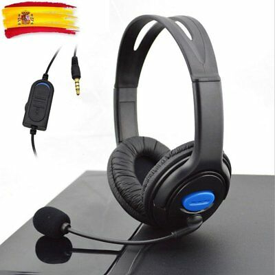 WIRED GAMING HEADSET Cuffie con microfono per Sony PS4 PlayStation 4 ... b26a2a430499