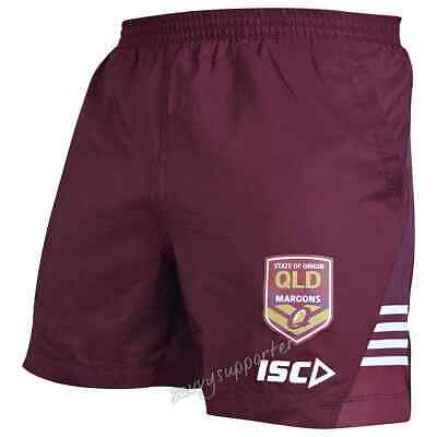 QLD Maroons 2019 Mens State of Origin Training Shorts S-5XL BNWT