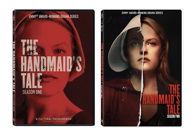The Handmaid's Tale - Season 1 + 2 (DVD, 2018, 7-Disc Set) Brand New
