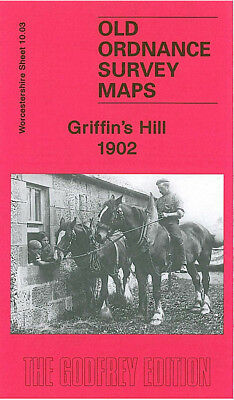 Old Ordnance Survey Map Griffins Hill 1902 Northfield St Marys Church Birmingham