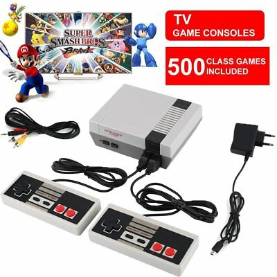 500 Giochi Retro Classic Game Console per NES Retrò TV HDMI Gamepad Nintendo