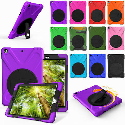 Hybrid Case For Apple iPad 9.7 Inch 6th Generation 2018 with Screen Protector