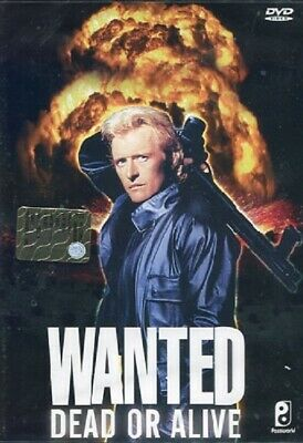 WANTED DEAD OR ALIVE DVD Rutger Hauer Gene Simmons Original UK Compatible New R2