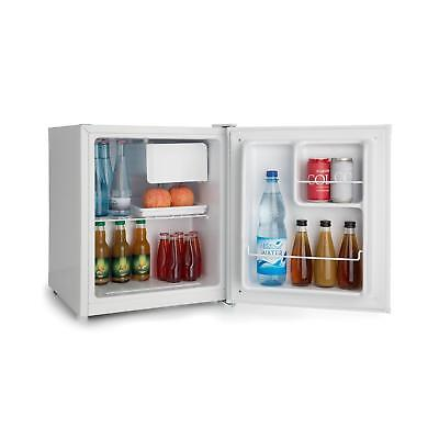 Mini Fridge Freezer Drinks chiiler Bar Office Home A + 46 Litres White