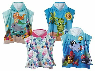 Children Girls Boys Hood Beach Poncho Bath Towel Beach Towel Towel Hoodie