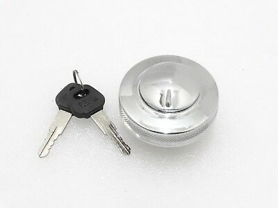 GAS FUEL TANK FILLER CAP STEEL CHROME PLATED FOR ROYAL ENFIELD 350cc MOTORCYCLE