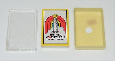 1982 World's Fair Knoxville Tn Playing Cards Factory Sealed