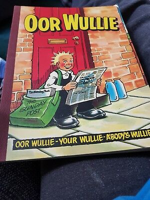 The Oor Wullie Book 1983 X VERY GOOD CONDITION X 1195 X
