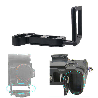 Extendable Vertical Quick Release Tripod L Plate for Sony A7R III / A7III / A9