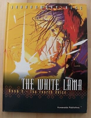 The White Lama Book 4 GRAPHIC NOVEL The Fourth Voice Jodorowsky Hardback Bess VG