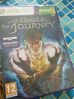 Fable: The Journey Brand New Sealed Xbox 360 (2012, Kinect)
