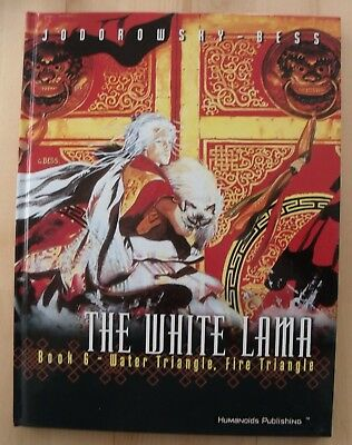 The White Lama Book 6 GRAPHIC NOVEL Water Triangle, Fire Jodorowsky Hardback