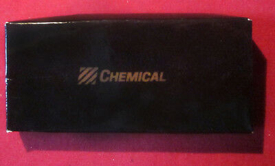 Brass CHEMICAL BANK Double Ended Key Chain