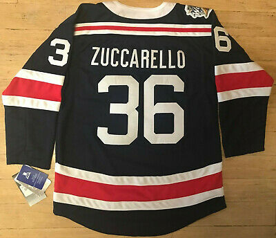 official photos 617cf ffa5f ADIDAS NEW YORK Rangers #36 Mats Zuccarello Youth Winter Classic Jersey S/M  L/Xl