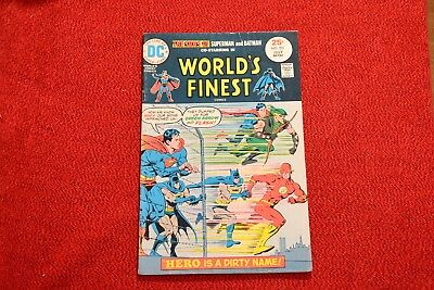A Steal! Worlds Finest Comics - #231, #232, #238, & #239 - Fill Your Collection!
