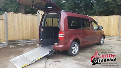 2015 Volkswagen Caddy Maxi Life 1.6TDi Wheelchair Disabled Accessible Vehicle