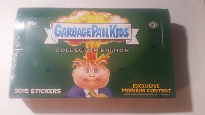 Garbage Pail Kids 2015 Collectors Edition Sealed Hobby Box Topps Collector