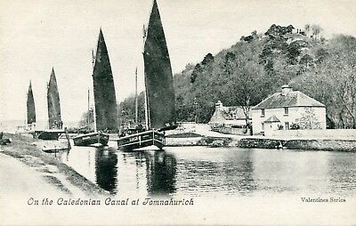 INVERNESS-SHIRE - On the Caledonian canal at Tomnahurich