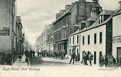 INVERNESS-SHIRE - High Street FORT WILLIAM - superbly animated