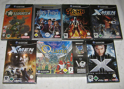Diverse Nintendo GameCube-Spiele ~ alle Neuware! ~ new & sealed