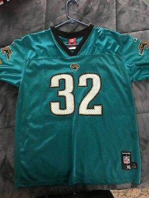 0a501963 YOUTH NFL REEBOK Jacksonville Jaguars Maurice Jones-Drew Jersey Home Green  #32