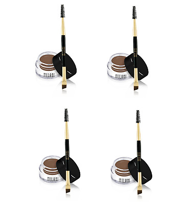 Milani Stay Put Brow Colour Brunette 2.6g x4