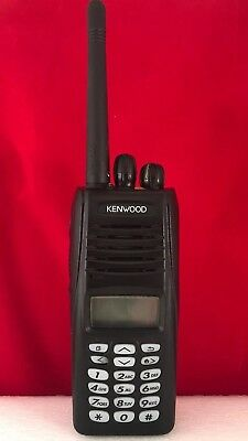 KENWOOD NX-210 VHF Nexedge Digital Portable DTMF Keypad Refurbished New Battery